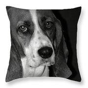 The Little Dog Throw Pillow