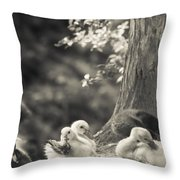 The Little Ones Rest Throw Pillow