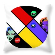 The Little Sister Throw Pillow