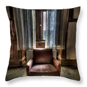 The Lone Seat Throw Pillow