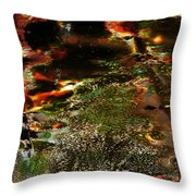 The Long Path Home Throw Pillow