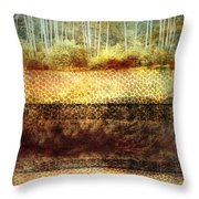 The Losses Reflected Throw Pillow