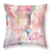 The Lost Marbles Throw Pillow