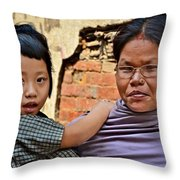 The Love Is Obvious Throw Pillow