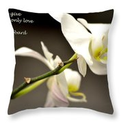 The Love We Keep Throw Pillow