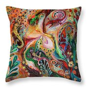 The Magic Circle... Available For Direct Purchase On Www.elenakotliarker.com Throw Pillow