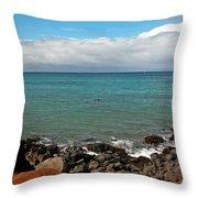 The Magic Of Maui Throw Pillow