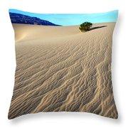 The Magic Of Sand Throw Pillow