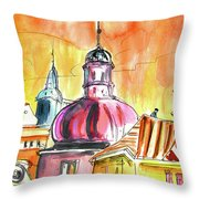 The Magical Roofs Of Prague 01 Bis Throw Pillow