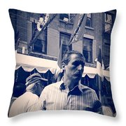The Maitre D Throw Pillow