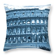 The Majestic Coliseum Throw Pillow by Luciano Mortula