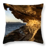 The Malaspina Galleries Throw Pillow