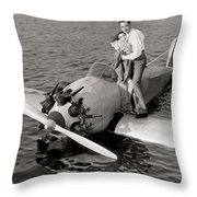 The Man And The Moment Throw Pillow