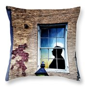 The Man Who Knew Too Much Throw Pillow