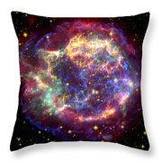 The Many Sides Of The Supernova Remnant Throw Pillow