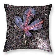 The Maple 5 Throw Pillow
