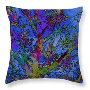 The Maple Tree Throw Pillow