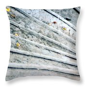 The Marble Steps Of Life Throw Pillow