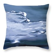 The March Of Winter Throw Pillow