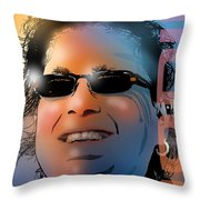 The Master Planner Throw Pillow