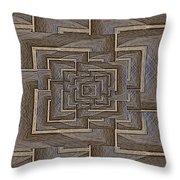 The Maze Within Throw Pillow