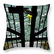 The Memorial Gates Throw Pillow