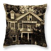 The Mermaid Inn - Chestnut Hill Throw Pillow