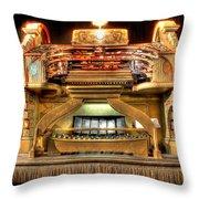The Mighty Wurlitzer Detroit Mi Throw Pillow