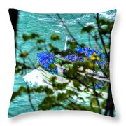 The Mist Before The Mist Throw Pillow