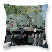 The Mk48 Logistics Vehicle System Throw Pillow