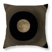 The Moon Within The Moon Throw Pillow