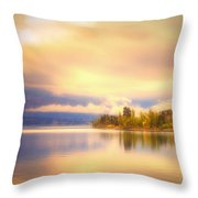 The Morning Quiet Throw Pillow