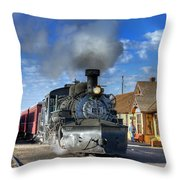 The Morning Special Throw Pillow