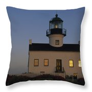The Morning Sunrise Reflects Throw Pillow