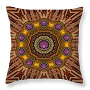 The Most Beautiful Orchids Throw Pillow