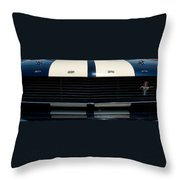 The Mustang Grill Throw Pillow