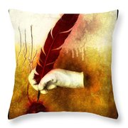 The Mystery  Throw Pillow by Mauro Celotti