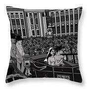 The Naked Royal Wedding 2 Throw Pillow