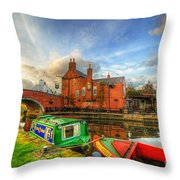 The Navigation Throw Pillow