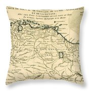 The New Kingdoms Of Grenada Throw Pillow