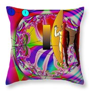 The New View Of Science Throw Pillow