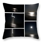 The Night The Moon Fell Throw Pillow