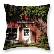 The Old Antique Store Throw Pillow
