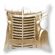 The Old Chevrolet Throw Pillow