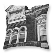 The Old Days Throw Pillow