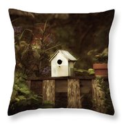 The Old Fence Row Variation Throw Pillow