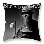 The Old Fort Throw Pillow