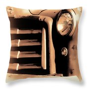 The Old Gmc Throw Pillow