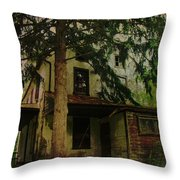 The Old House Where Nobody Lives Throw Pillow