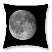 The Old Moon Throw Pillow